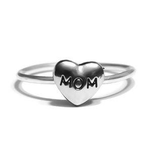 "925 ""Mom"" Ring"